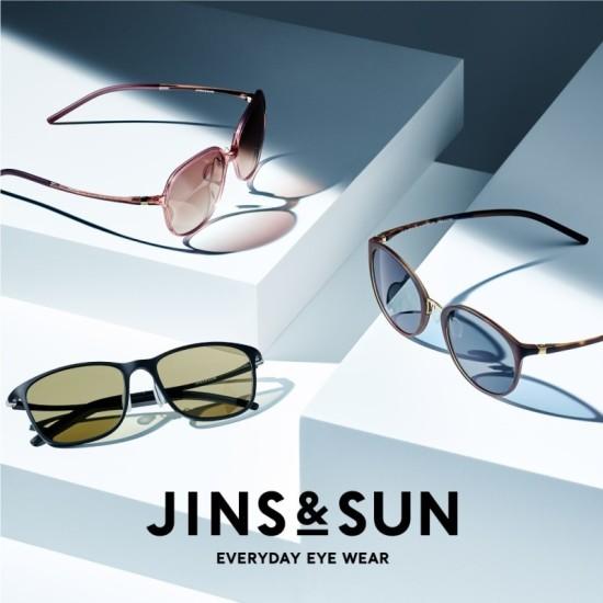 新サングラスブランド「JINS&SUN」のシーズン到来! 新作SG,トレンド、サングラス