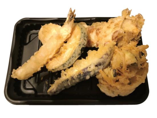 天ぷら盛りあわせ