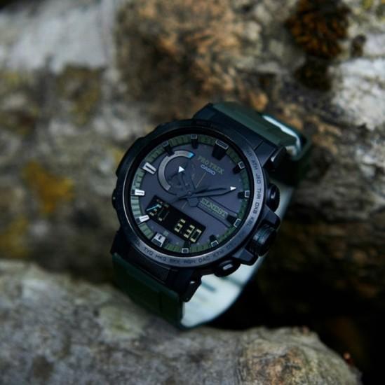 新作プロトレック カシオ,PRO TREK,ソーラー電波,コラボレーションモデル,腕時計,ウォッチ