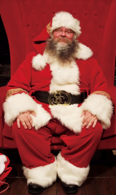 ニッケパークタウンに「サンタクロース」がやってきた!